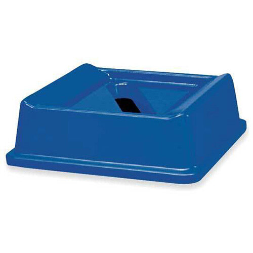 Rubbermaid Paper Recycling Top Bin Lid Blue