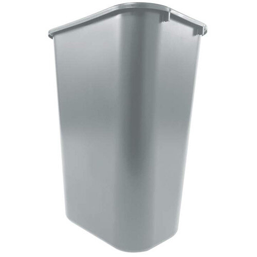 Rubbermaid 39L Rectangular Waste Basket Grey