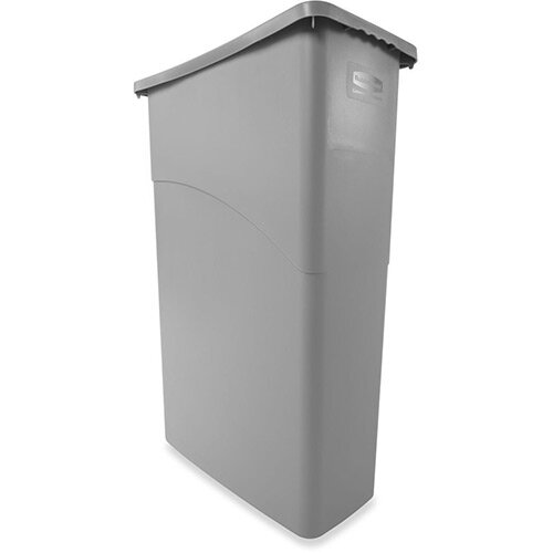 Rubbermaid Slim Jim 87L Waste Container Grey