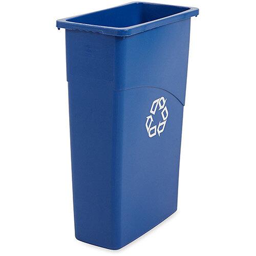 Rubbermaid 87L Slim Jim Waste Container Blue