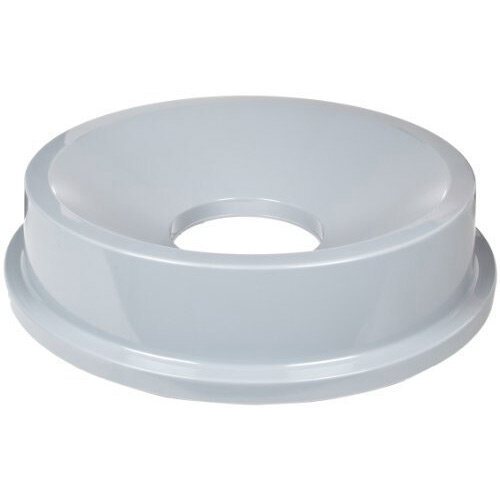 Rubbemaid Rubber Funnel Top Bin Lid For FG2632 Container Grey