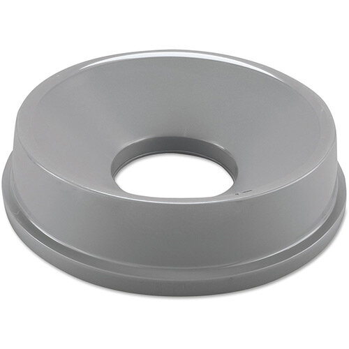 Rubbermaid Funnel Top Bin Lid for 2947 &3546 Round Containers Grey
