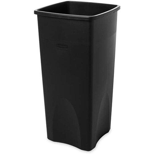 Rubbermaid 87L Square Container Black