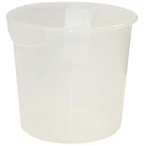 Rubbermaid 17L Round Storage Container Clear