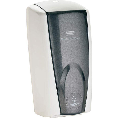 Rubbermaid AutoFoam Soap Dispenser 1100ml White &Grey