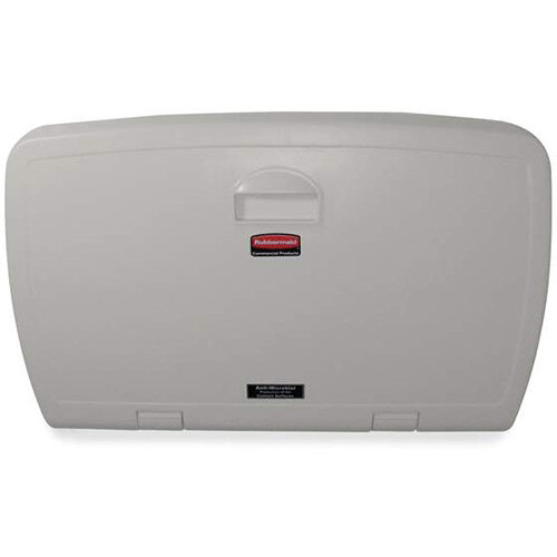 Rubbermaid Vertical Baby Changing Station Light Platinum