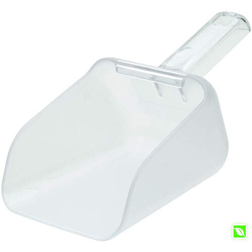 Rubbermaid 0.9L Bouncer Contour Scoop Clear
