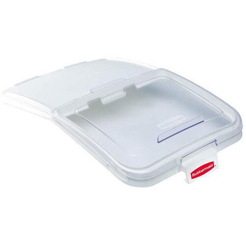 Rubbermaid ProSave Sliding Lid with 0.9L Scoop for FG360388 116L Ingredient Bin Clear