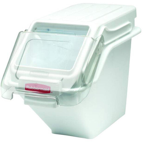 Rubbermaid 24L ProSave Safety Midi Food Storage Bin With Lid Stackable White