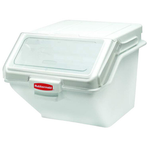 Rubbermaid 47L ProSave Safety Maxi Food Storage Bin With Lid Stackable White