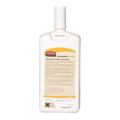 Rubbermaid Mediterranean Citrus Cleaner &Deodoriser Refill 600ml
