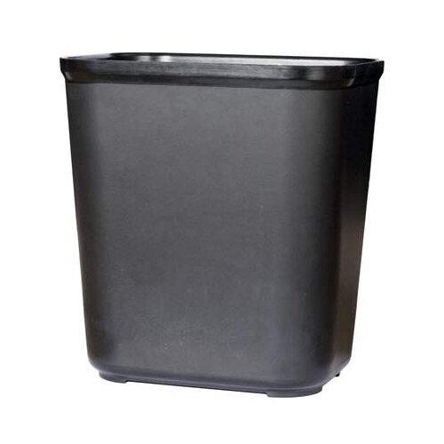 Rubbermaid Fire Resistant Wastebasket 26.5L Black