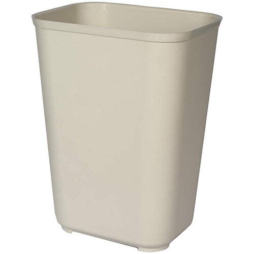 Rubbermaid Fire Resistant Wastebasket 37.9L Beige