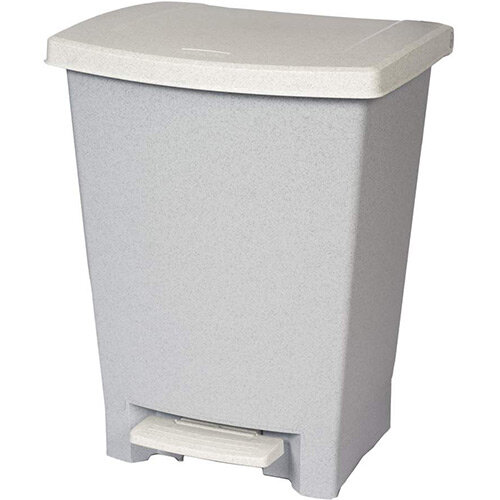 Rubbermaid Vanity Pedal Bin 25L Grey