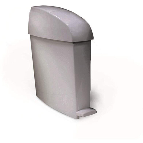 Rubbermaid MiniPed 12L Front Opening Pedal Operated Bin Grey