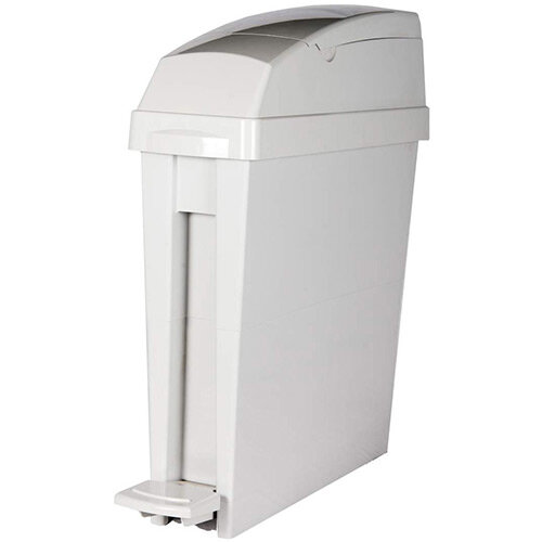 Rubbermaid San1Ped 20L 580x490x155mm Pedal Operated Bin Grey