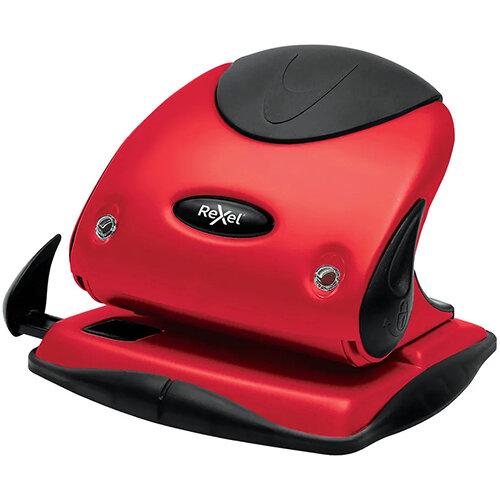 Rexel Choices P225 Hole Punch Red 2115692