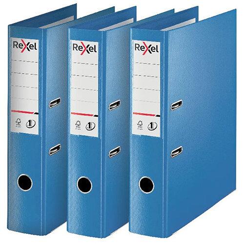 Rexel Choices Lever Arch File Foolscap Polypropylene Blue 3 For 2 RX810228