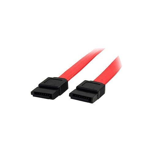 StarTech 12in SATA Serial ATA Cable Male SATA Male SATA 12 Red