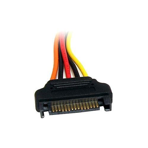StarTech 8in 15 pin SATA Power Extension Cable 8in SATA SATA