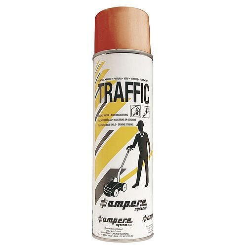 Traffic Paint Red Pack of 12 373881