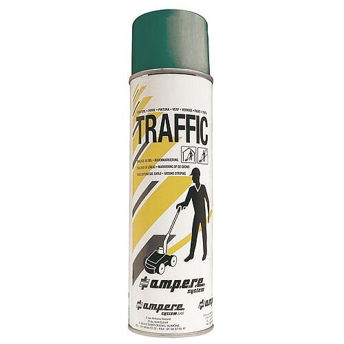Traffic Paint Green Pack of 12 373883