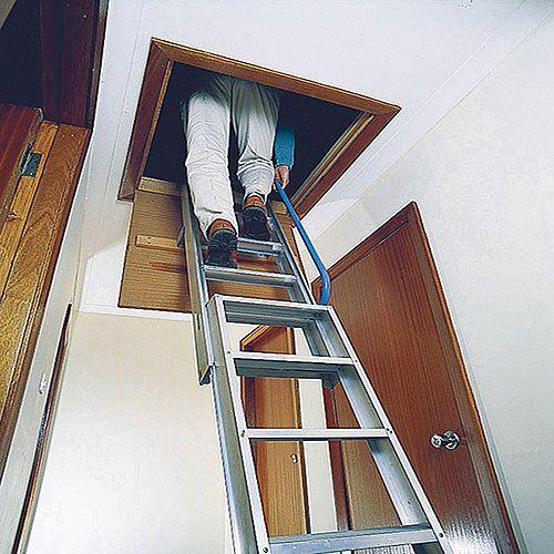 Hand Rail Barrier for Aluminium Loft Ladder 306684