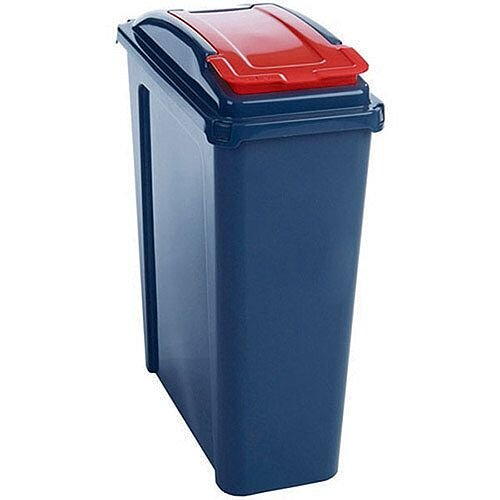 Vfm Recycling Waste Bin 25L Red