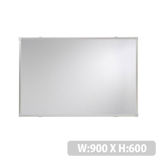 Franken Whiteboard ValueLine 900x600mm Lacquered Steel Silver SC2702