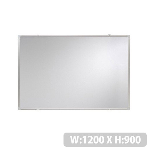 Franken Whiteboard ValueLine 1200x900mm Lacquered Steel Silver SC2703