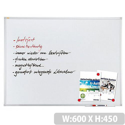 Franken Whiteboard ValueLine 45x60cm Enameled SC3212