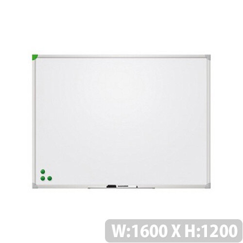 Franken Magnetic Whiteboard U-Act!Line 1600x1200mm Lacquered White SC911216