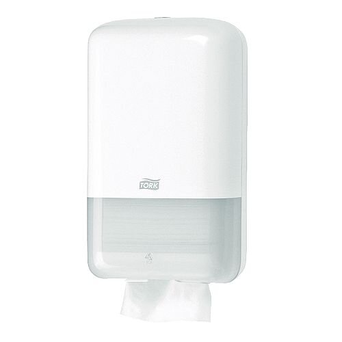 Tork Folded Toilet Tissue T3 White Plastic Dispenser 556000