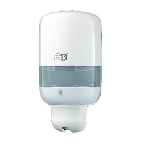 Tork Mini S2 White Liquid Soap Dispenser 561000