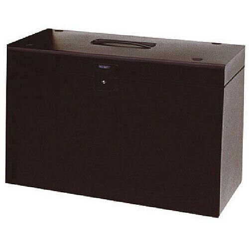 Cathedral A4 Metal File Box Black A4BK