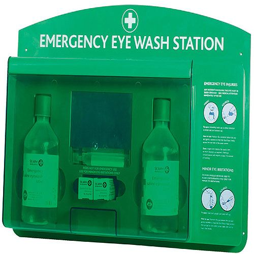 St John Ambulance Eye Wash Station (Pack of 1) F17900