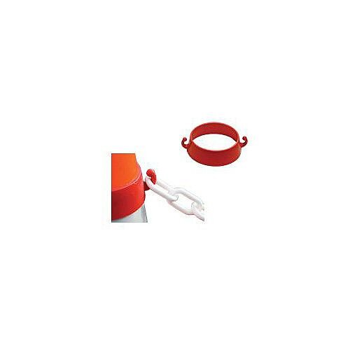 Traffic Cone Connectors Pack of 10 29mm x 76mm x 87mm Dia