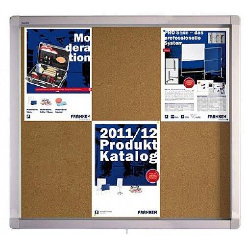 Franken Display Case ECO Outdoor Cork 6 x A4 SK6KE