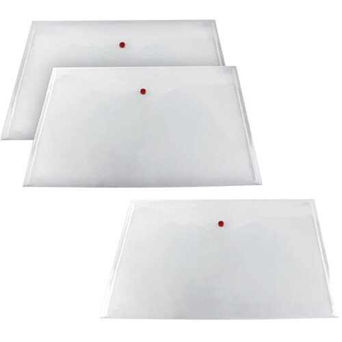 Snopake Polyfile Classic A3 Clear 3 For 2 SK812405