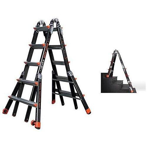 5 Rung Little 'Dark Horse' Fibreglass Ladder Max Height 5.27M Capacity 150Kg