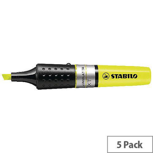 Stabilo Luminator Highlighter Yellow Pack 5 71/24
