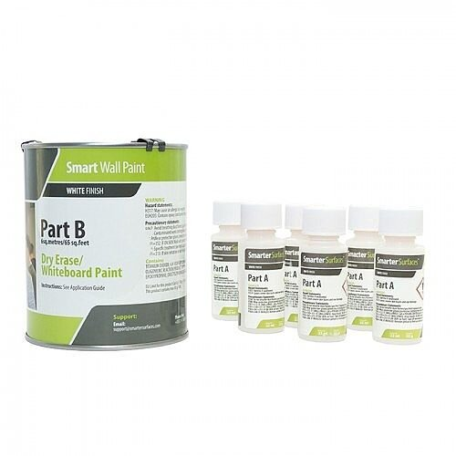 Smart Wall Paint 6 sq. m Coverage White with Primer