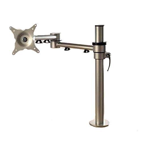 Algar Silver Single Screen Monitor Arm SSSMA