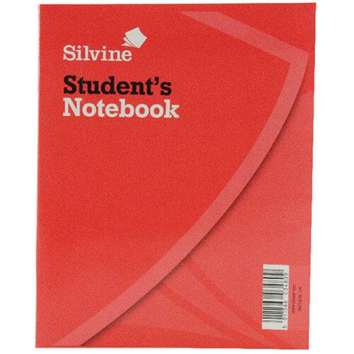 Silvine Exercise Book 8x6.4 inches 40 Leaf Ruled Feint 144