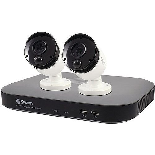 Swann 4 Channel 2 Camera DVR CCTV Kit SWDVK-447802-UK