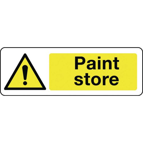 Sign Paint Store 300x100 Rigid Plastic