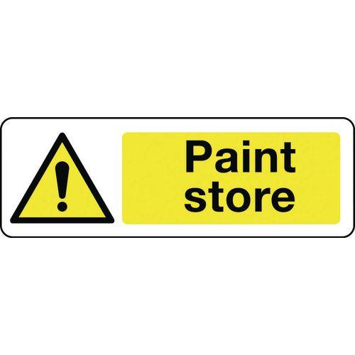 Sign Paint Store 600x200 Rigid Plastic
