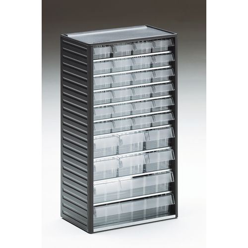 Cabinet Visible Storage Grey 32 Drawers Various Sizes