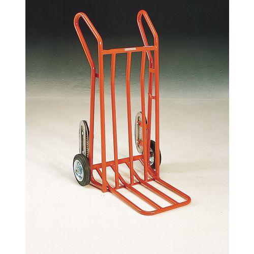 Handtruck Heavy Duty C/W Sc1 Crawler Tracks - Capacity 200kg - Red