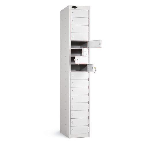 Locker 16 Door White Body White Door